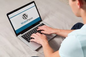 Using WordPress on a Laptop Computer