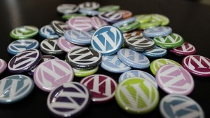 different color WordPress badges